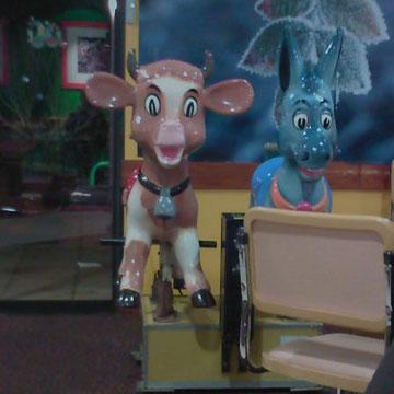 Des animaux sympathiques dans le Flunch d'Hyères !!!