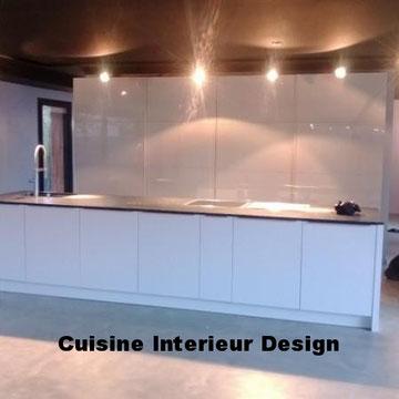 cuisine intérieur design création toulouse moderne cuisine design contemporaine maison d'architecte ilot