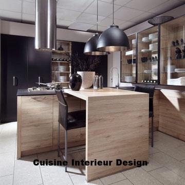 cuisine design esprit loft et industriel