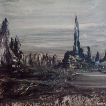 nuit grise-huile-50x40-1974