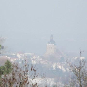 Blick von Grasleben nach Weferlingen