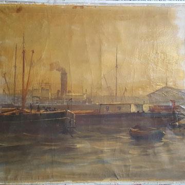 Restauratie vernis schilderij Waalwijk