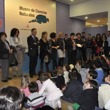 Acto de inauguración de la Exposición
