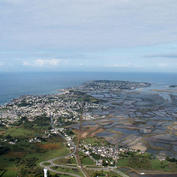 La Presqu'île vers Le Croisic