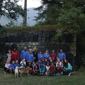 сборная команда 3 -ей Гималайской экспедиции 2011 год