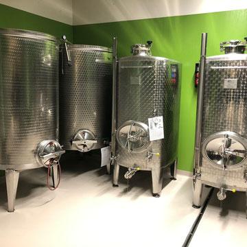 Weinkeller Tankraum Weisswein