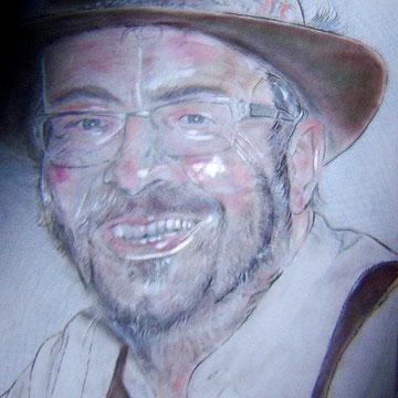 Thomas, Pastell und Buntstifte  42 x 29,7 cm