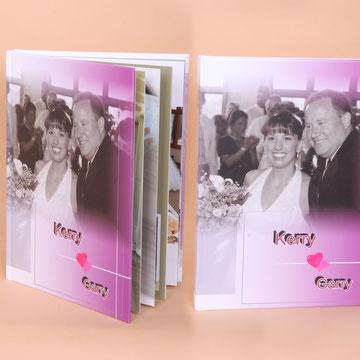 Las bodas son temas ideales para hacer un álbum digital.