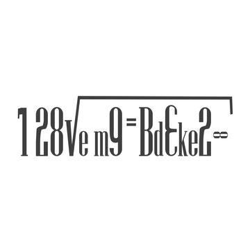 I love my Dackel (Decke die obere Hälfte der Formel ab) schwarz