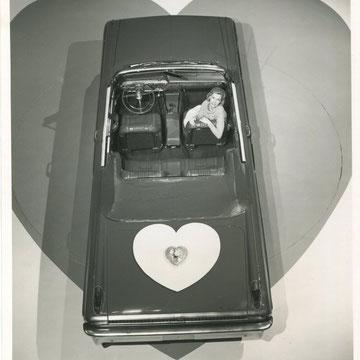"""refG37 -  20,5x25,5cm - """"mercury monterey conv""""  presse: légende au dos- 1962 - 4/5"""