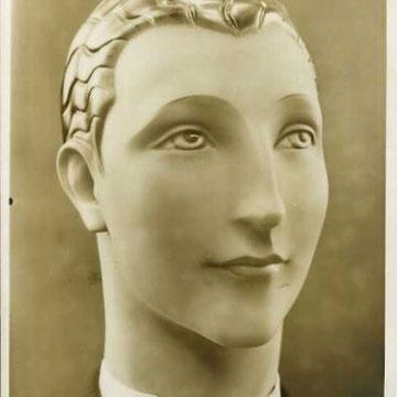 """refG203 - 16,5x22,5cm - """"Pierre imans mannequins d'art"""" - circa 1930 - 5/5"""