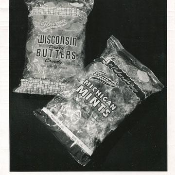 "refG212 - 20,5x25cm  - ""sachet de bonbons"" circa 1950 - 4/5"
