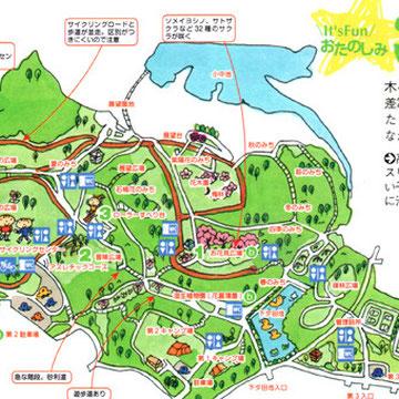 公園マップ(ファミリーウォーカー)