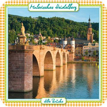 Kork Untersetzer Souvenir Heidelberg