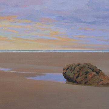Sunset . Gerra. 100x65cm. Acrylic on canvas.