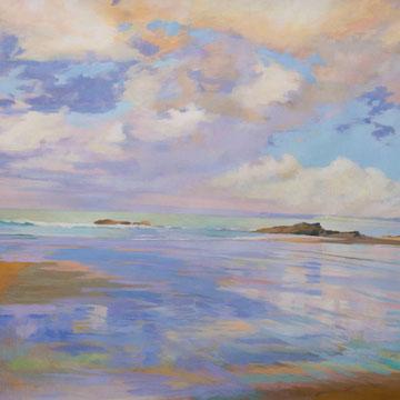 Aire y mar. Santander.132 x 90 cm. *
