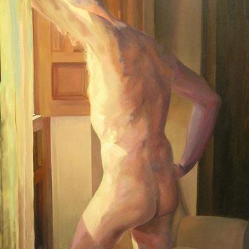 Raul's silence. 130 x 97 cm. Oil on canvas.