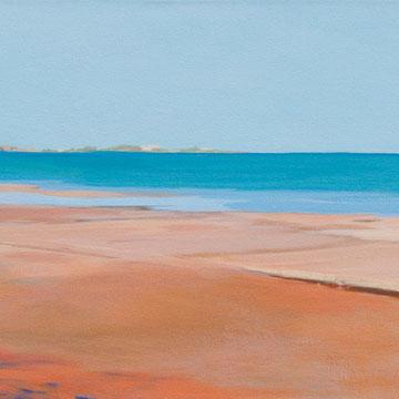 Siros. (Platform). Acrylic on canvas. 90 x 40cm. *