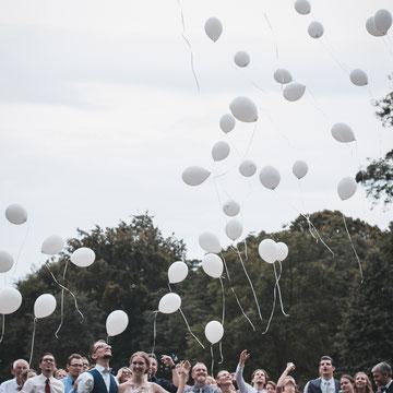 Ballons Hochzeit Bamberger Haus