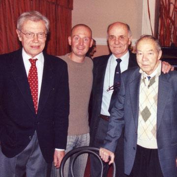 Da sinistra: Franco Paludetti, Andrea Agati, Enzo Faccilo e Glauco Coretti.