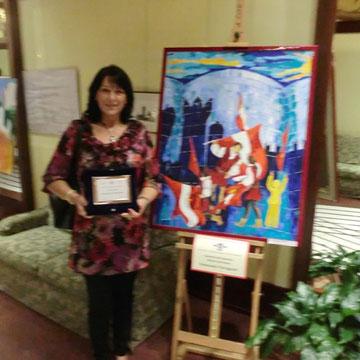 2° Premio  Art Immagine Feste Vigiliane  Luglio 2012 presso Hotel Trento - Trento  - con l'opera