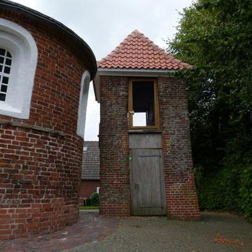 Denkmalgeschützter Glockenturm