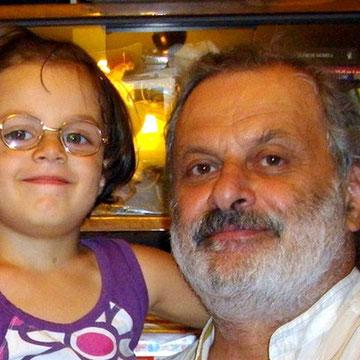 Иосиф Хусенский с дочерью Алиной