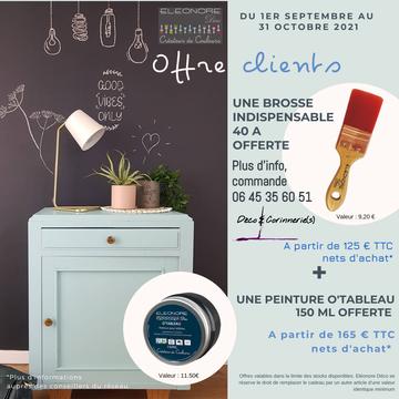 Offres Clients Eleonore Déco septembre et octobre 2021