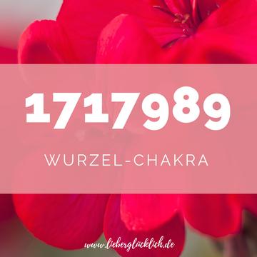 Chakren mit Heilzahlen ausgleichen, Wurzelchakra ausgleichen mit Zahlencode nach Grabovoi #Wurzelchakra #Heilzahlen#lieberglücklich