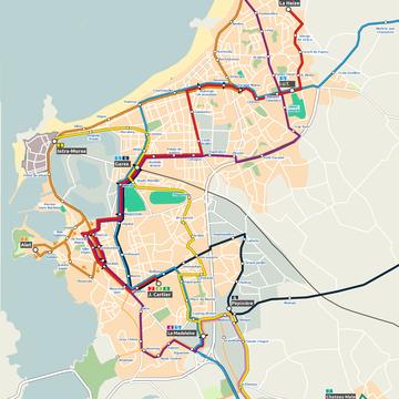 Proposition de Transports Malouins pour le réseau urbain.