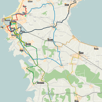 Proposition de Transports Malouins pour le réseau périurbain.