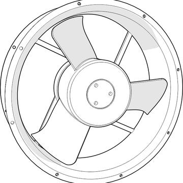 ventilador de 10 pulgadas para tablero electrónico