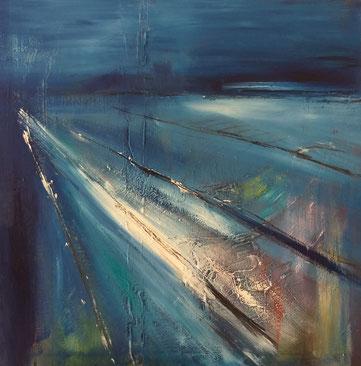 BDL 2012, Öl auf Leinwand 80 x 80 cm