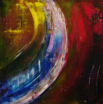 BDL 0906, Acryl auf Leinwand 100x 100 cm