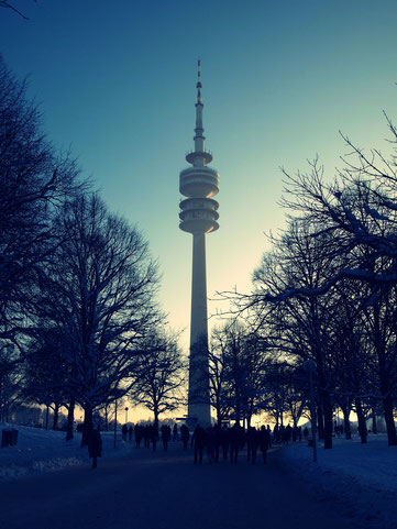 München, Olympiapark am 01.01.