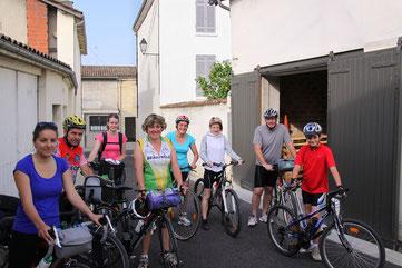 étape cycliste à La Réole Label vélo
