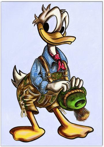 Donald in Lederhosen