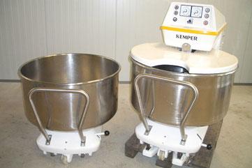 Generalüberholte Spiralknetmaschine Kemper SP 125 a zu verkaufen