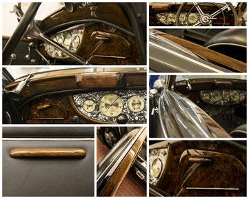 Restaurierung und Anfertigung verschiedener Autoteile
