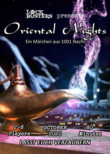 Escape the room in Kassel - Oriental Nights - Ein Märchen aus 1001 Nacht