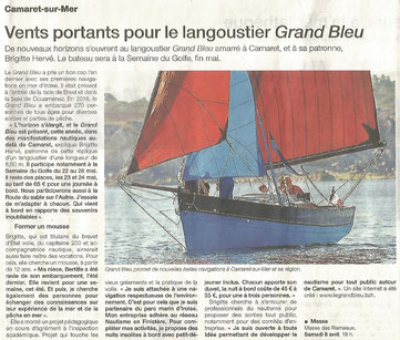 article ouest-france avril 2017