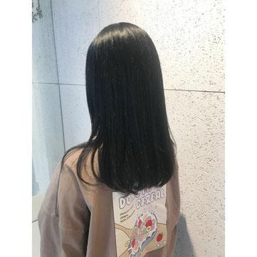 横浜 元町 石川町 美容室 髪質改善 クリスタル イノアカラー ロレアル  ハーブカラー 大人女子 ヘアスタイル