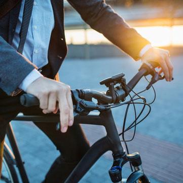 Mit dem Fahrrad zur Arbeit pendeln