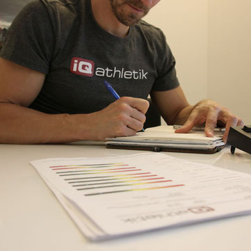 iQ athletik Trainingswissenschaftler