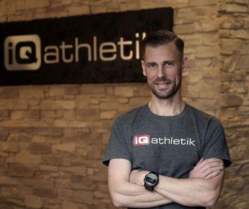 Experte für Leistungsdiagnostik und Training: Sebastian Mühlenhoff von iQ athletik