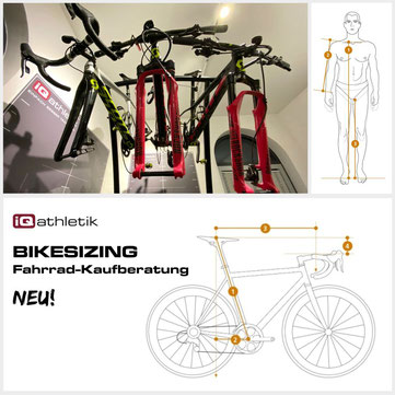 Fahrrad-Kaufberatung (Bikesizing)