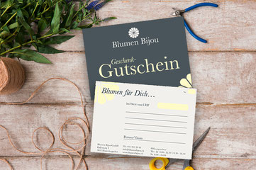 Printdesign Blumen Bijou Hinterkappelen