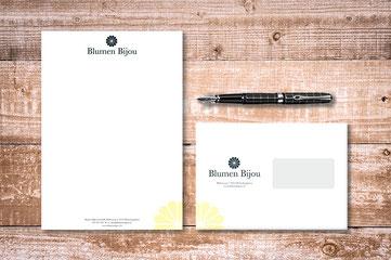 Briefschaften Blumen Bijou Hinterkappelen