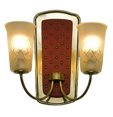 restaurierte Lampe aus den 50er Jahren im Foyer des Filmstudios