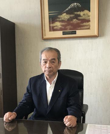 備後青果(株)、社長 空 博司 写真